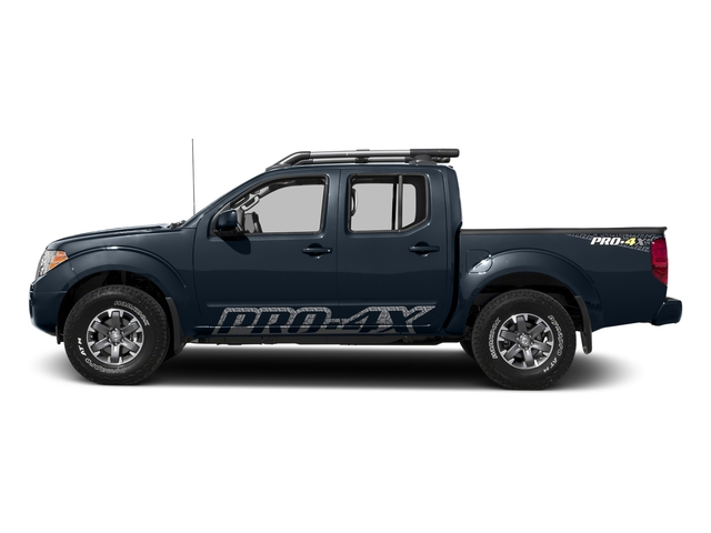 Arctic Blue Metallic 2017 Nissan Frontier Pictures Frontier Crew Cab PRO-4X 4WD photos side view
