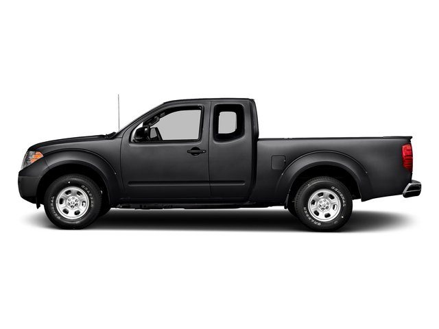 Magnetic Black 2017 Nissan Frontier Pictures Frontier King Cab S 2WD photos side view