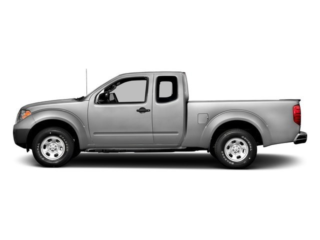 Brilliant Silver 2017 Nissan Frontier Pictures Frontier King Cab S 2WD photos side view