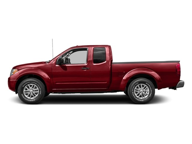 Lava Red 2017 Nissan Frontier Pictures Frontier King Cab SV 2WD photos side view