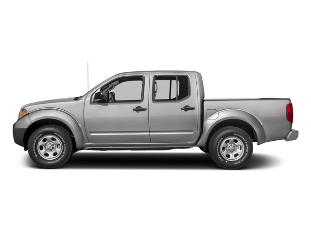 Brilliant Silver 2017 Nissan Frontier Pictures Frontier Crew Cab S 4WD photos side view