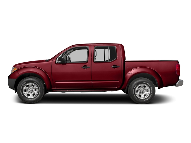 Cayenne Red 2017 Nissan Frontier Pictures Frontier Crew Cab S 4WD photos side view