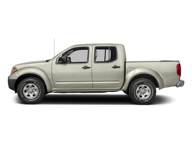 Glacier White 2017 Nissan Frontier Pictures Frontier Crew Cab S 4WD photos side view