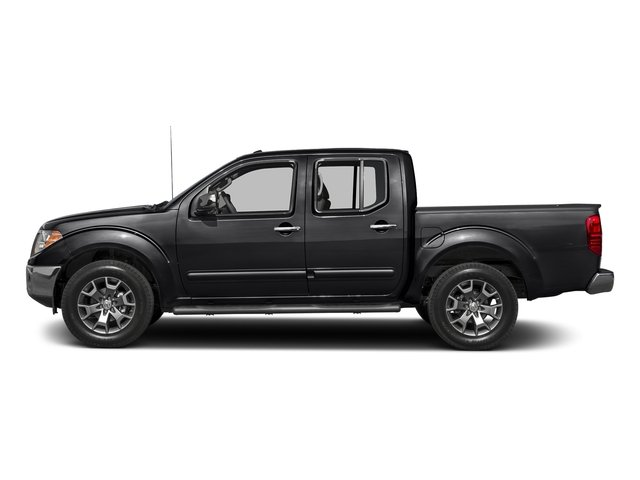 Magnetic Black 2017 Nissan Frontier Pictures Frontier 2017.5 Crew Cab 4x4 SL Auto photos side view