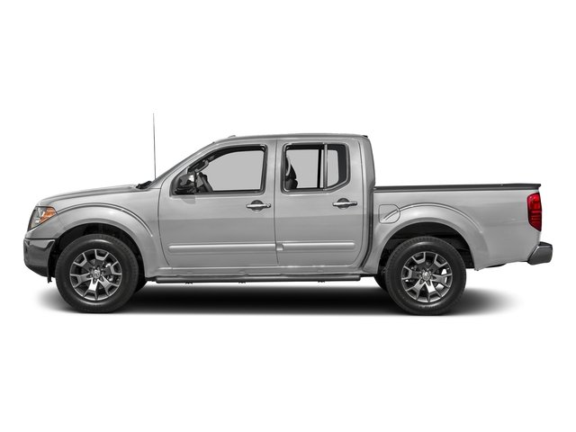 Brilliant Silver 2017 Nissan Frontier Pictures Frontier 2017.5 Crew Cab 4x4 SL Auto photos side view