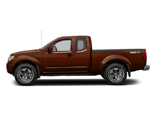 Forged Copper 2017 Nissan Frontier Pictures Frontier King Cab 4x4 PRO-4X Auto photos side view