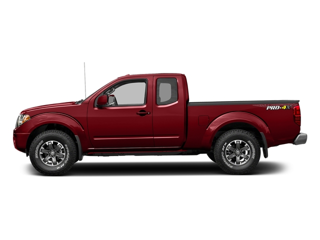 Lava Red 2017 Nissan Frontier Pictures Frontier King Cab 4x4 PRO-4X Auto photos side view