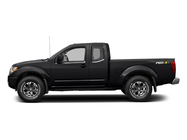 Magnetic Black 2017 Nissan Frontier Pictures Frontier King Cab 4x4 PRO-4X Auto photos side view
