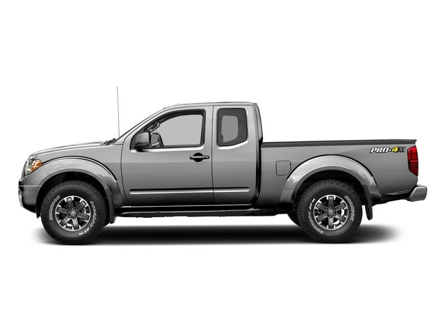 Brilliant Silver 2017 Nissan Frontier Pictures Frontier King Cab 4x4 PRO-4X Auto photos side view