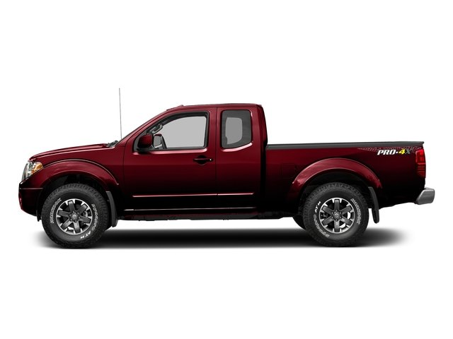 Cayenne Red 2017 Nissan Frontier Pictures Frontier King Cab 4x4 PRO-4X Auto photos side view