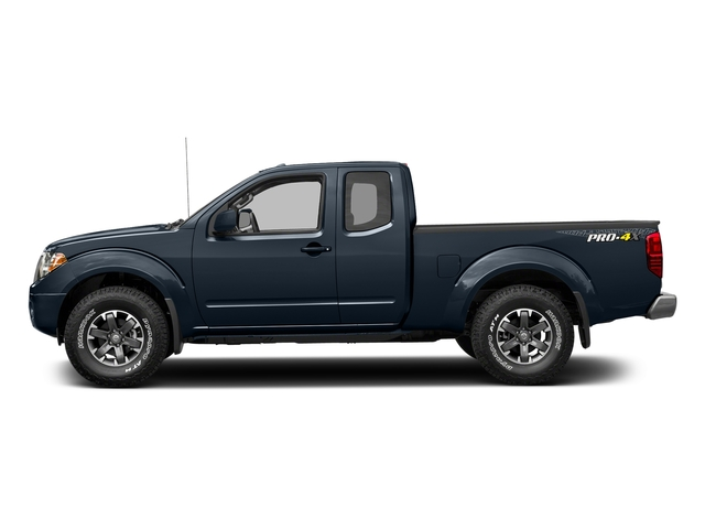 Arctic Blue Metallic 2017 Nissan Frontier Pictures Frontier King Cab 4x4 PRO-4X Auto photos side view