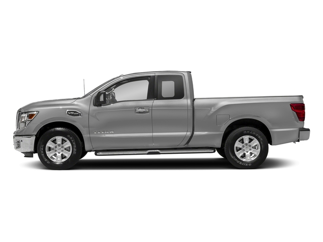 Brilliant Silver 2017 Nissan Titan Pictures Titan King Cab SV 2WD photos side view