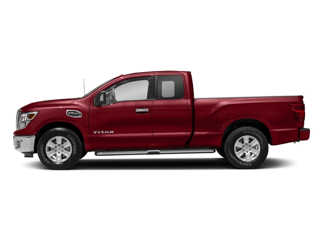Cayenne Red 2017 Nissan Titan Pictures Titan King Cab SV 2WD photos side view