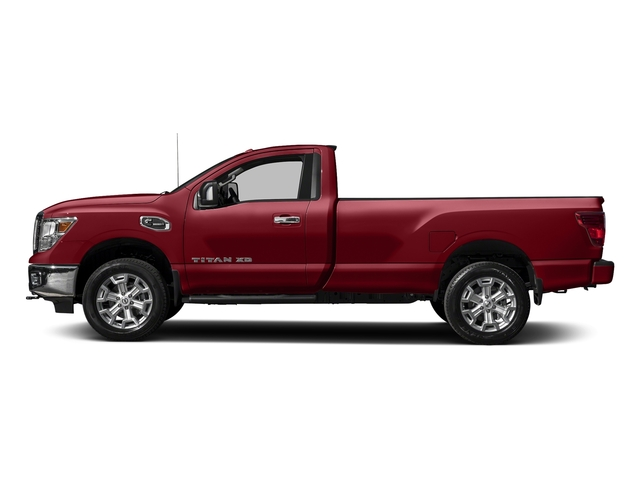 Cayenne Red 2017 Nissan Titan XD Pictures Titan XD Regular Cab SV 2WD photos side view