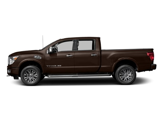 Java Metallic 2017 Nissan Titan XD Pictures Titan XD Crew Cab Platinum Reserve 4WD photos side view