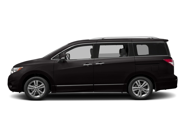 Dark Mahogany 2017 Nissan Quest Pictures Quest Wagon 5D SL V6 photos side view