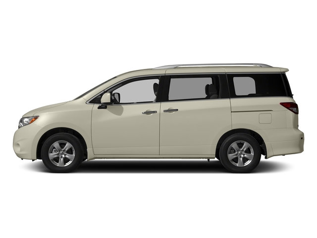 Pearl White 2017 Nissan Quest Pictures Quest Wagon 5D S V6 photos side view