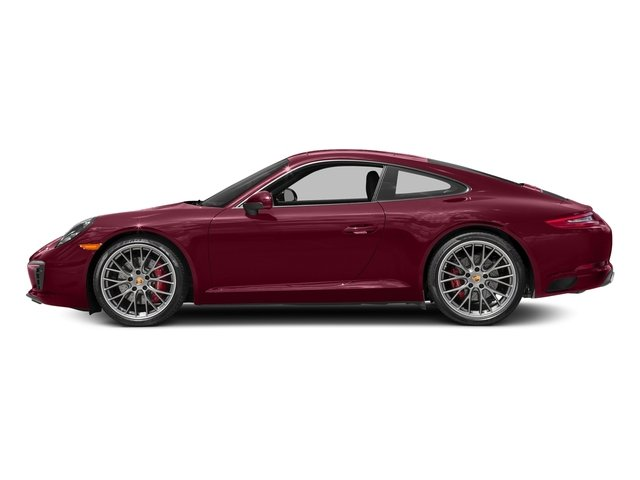 Carmine Red 2017 Porsche 911 Pictures 911 Carrera S Coupe photos side view
