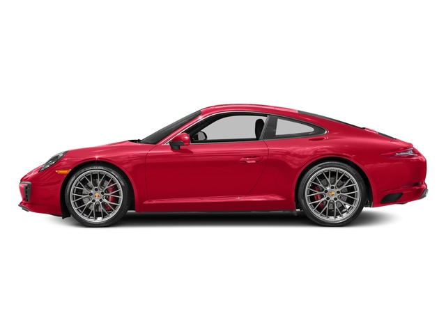 Guards Red 2017 Porsche 911 Pictures 911 Carrera S Coupe photos side view