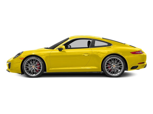 Racing Yellow 2017 Porsche 911 Pictures 911 Carrera S Coupe photos side view