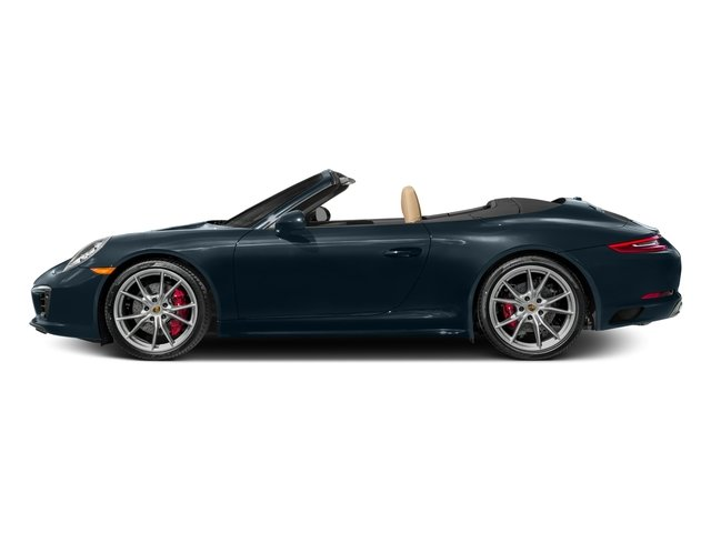 Night Blue Metallic 2017 Porsche 911 Pictures 911 Carrera 4S Cabriolet photos side view