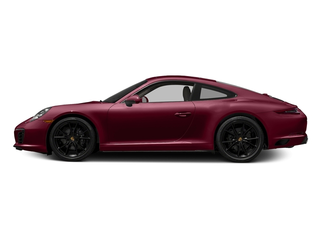 Carmine Red 2017 Porsche 911 Pictures 911 Carrera Coupe photos side view