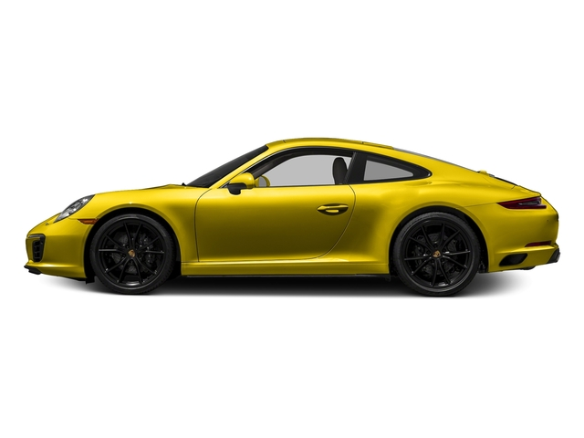 Racing Yellow 2017 Porsche 911 Pictures 911 Carrera Coupe photos side view
