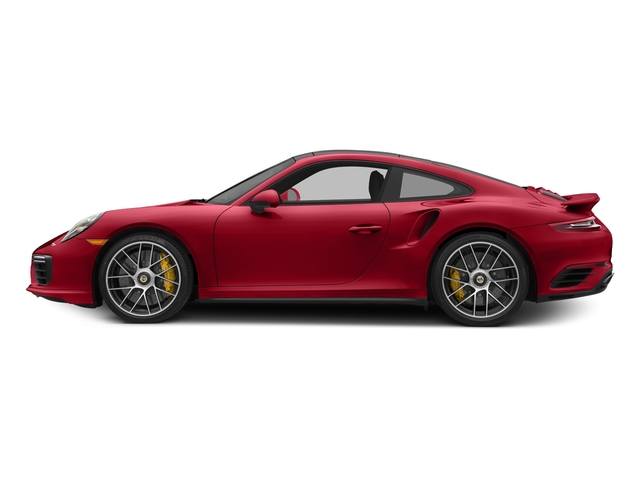 Carmine Red 2017 Porsche 911 Pictures 911 Turbo S Coupe photos side view
