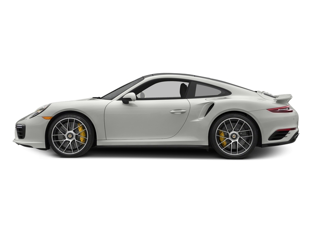 White 2017 Porsche 911 Pictures 911 Turbo S Coupe photos side view