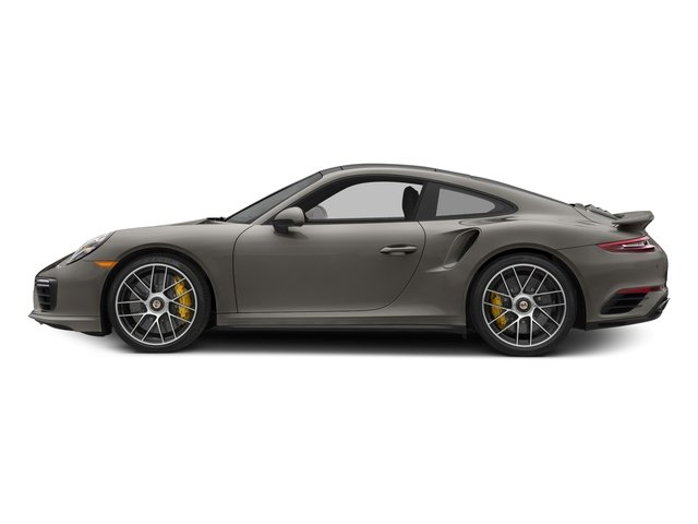 Agate Grey Metallic 2017 Porsche 911 Pictures 911 Turbo S Coupe photos side view