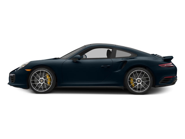 Night Blue Metallic 2017 Porsche 911 Pictures 911 Turbo S Coupe photos side view