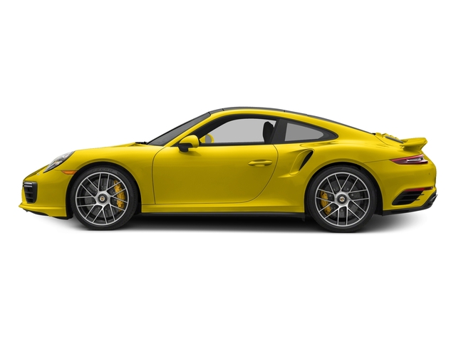 Racing Yellow 2017 Porsche 911 Pictures 911 Turbo S Coupe photos side view