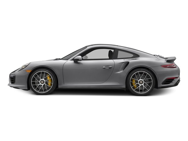 GT Silver Metallic 2017 Porsche 911 Pictures 911 Turbo S Coupe photos side view