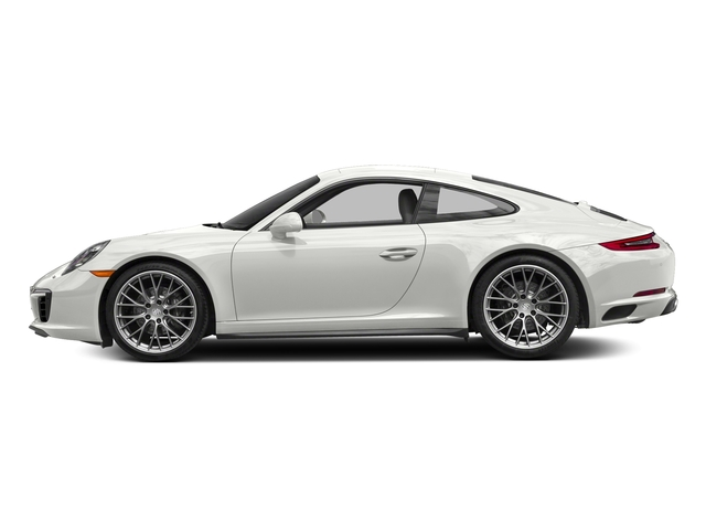 White 2017 Porsche 911 Pictures 911 Carrera 4 Coupe photos side view