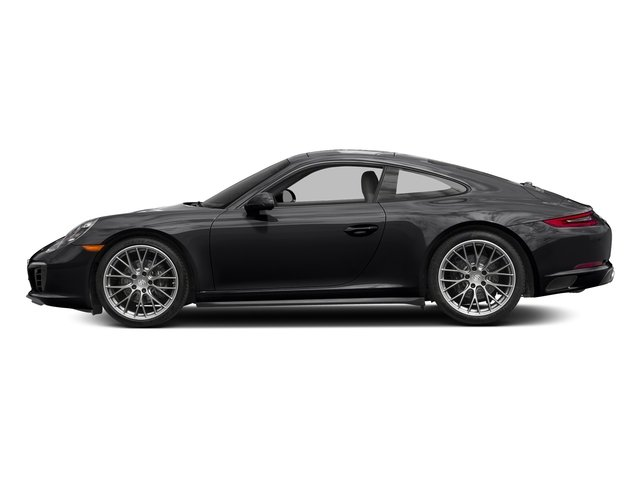 Black 2017 Porsche 911 Pictures 911 Carrera 4 Coupe photos side view