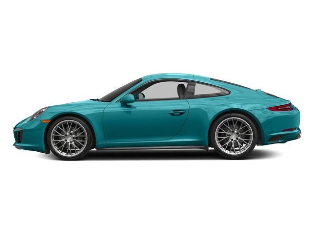 Miami Blue 2017 Porsche 911 Pictures 911 Carrera 4 Coupe photos side view
