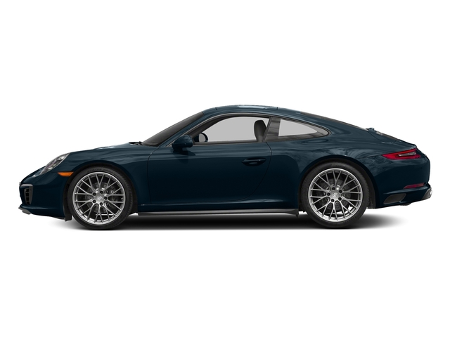 Night Blue Metallic 2017 Porsche 911 Pictures 911 Carrera 4 Coupe photos side view