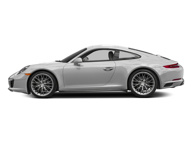 GT Silver Metallic 2017 Porsche 911 Pictures 911 Carrera 4 Coupe photos side view