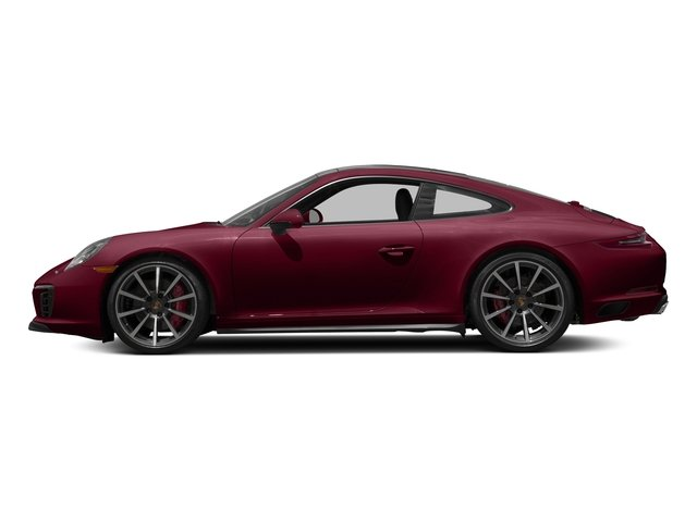 Carmine Red 2017 Porsche 911 Pictures 911 Carrera 4S Coupe photos side view