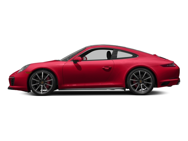 Guards Red 2017 Porsche 911 Pictures 911 Carrera 4S Coupe photos side view