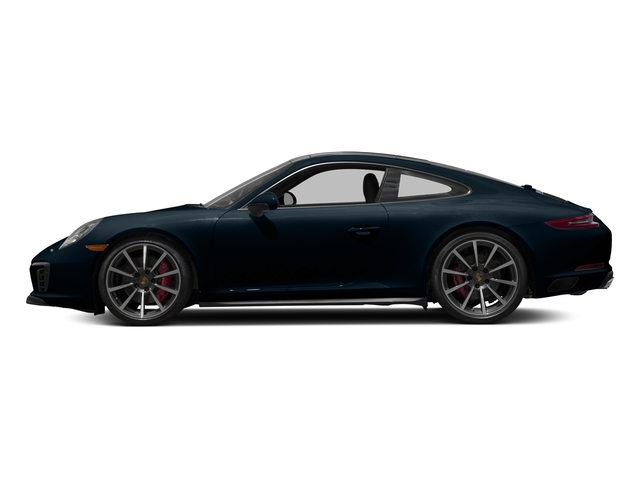 Night Blue Metallic 2017 Porsche 911 Pictures 911 Carrera 4S Coupe photos side view