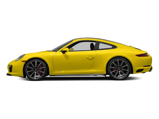Racing Yellow 2017 Porsche 911 Pictures 911 Carrera 4S Coupe photos side view