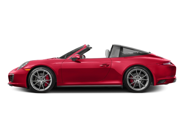 Guards Red 2017 Porsche 911 Pictures 911 Targa 4 GTS photos side view