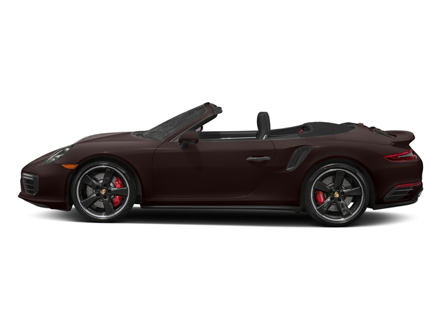 Mahogany Metallic 2017 Porsche 911 Pictures 911 Turbo Cabriolet photos side view