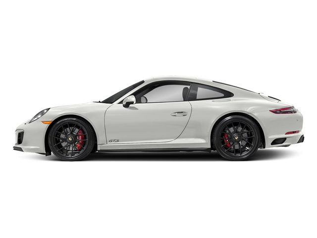White 2017 Porsche 911 Pictures 911 Carrera GTS Coupe photos side view