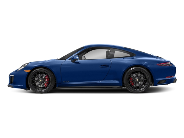 Sapphire Blue Metallic 2017 Porsche 911 Pictures 911 Carrera GTS Coupe photos side view