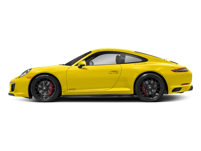 Racing Yellow 2017 Porsche 911 Pictures 911 Carrera GTS Coupe photos side view
