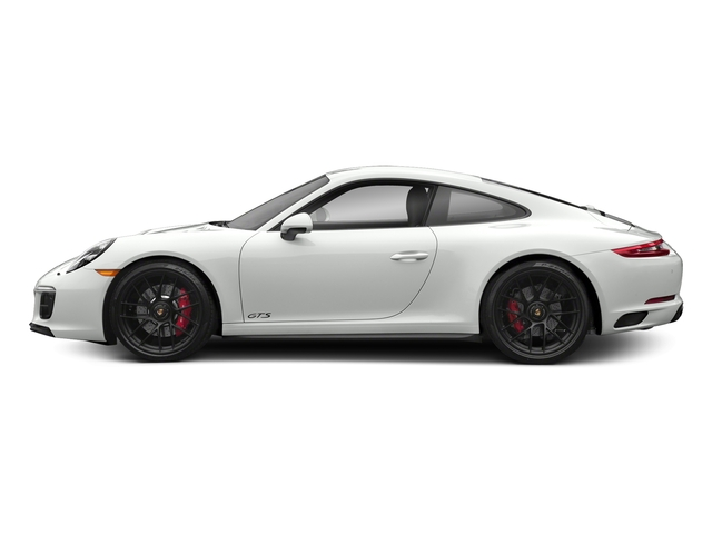 White 2017 Porsche 911 Pictures 911 Carrera 4 GTS Coupe photos side view
