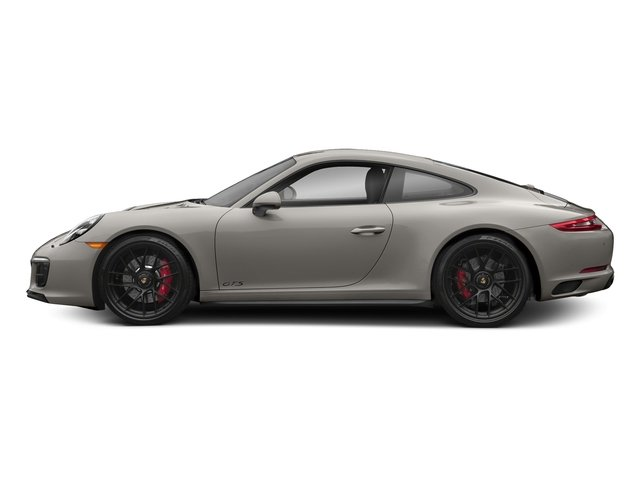 Agate Grey Metallic 2017 Porsche 911 Pictures 911 Carrera 4 GTS Coupe photos side view