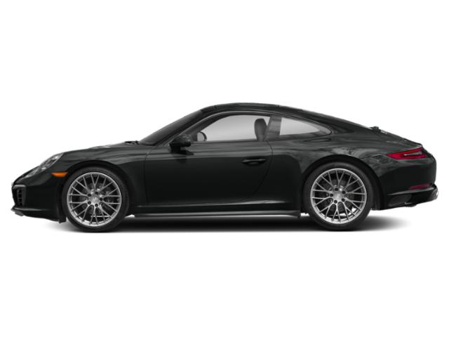Jet Black Metallic 2017 Porsche 911 Pictures 911 Carrera 4 Coupe photos side view
